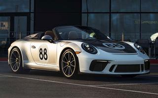 Ultimul exemplar Porsche 911 al vechii generații 991 va fi scos la licitație: banii vor fi donați în scopuri caritabile