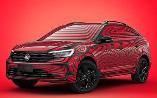 Primele imagini prelucrate digital cu viitorul Volkswagen Nivus: SUV-ul coupe va debuta în Brazilia în luna iunie