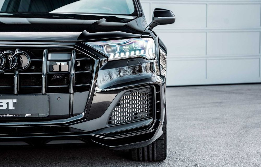 Audi SQ7 TDI primește un pachet complet din partea ABT Sportsline: kit de caroserie agresiv și motor diesel cu 510 CP - Poza 6