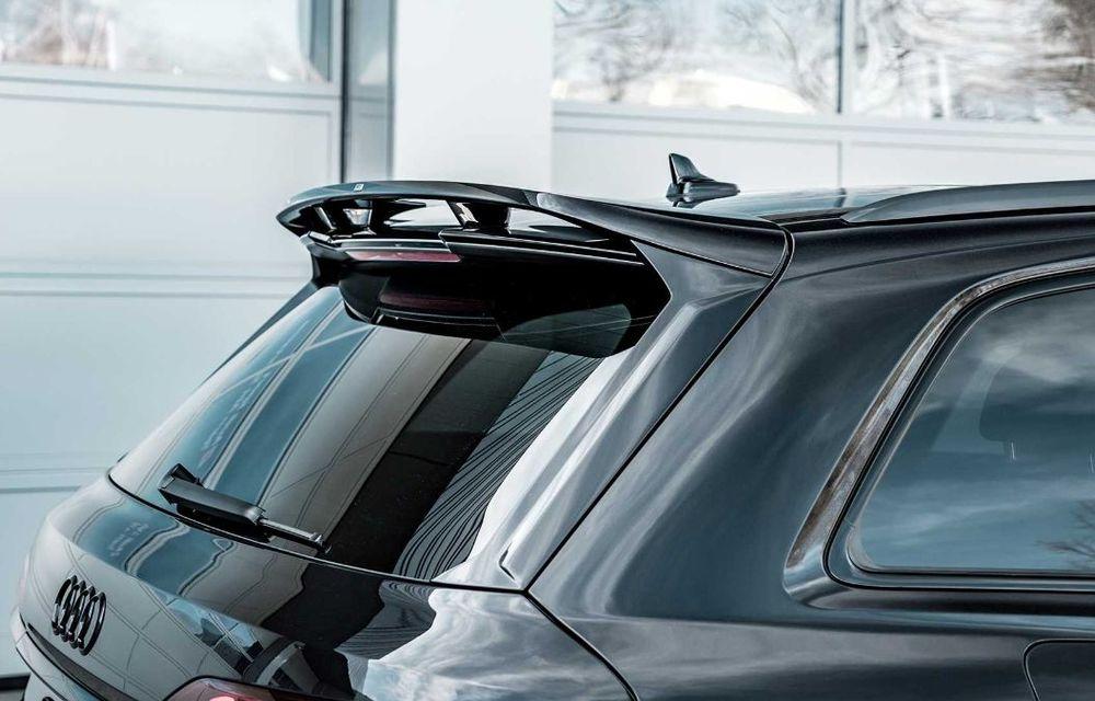 Audi SQ7 TDI primește un pachet complet din partea ABT Sportsline: kit de caroserie agresiv și motor diesel cu 510 CP - Poza 9
