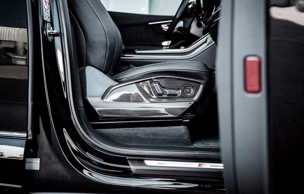 Audi SQ7 TDI primește un pachet complet din partea ABT Sportsline: kit de caroserie agresiv și motor diesel cu 510 CP - Poza 11