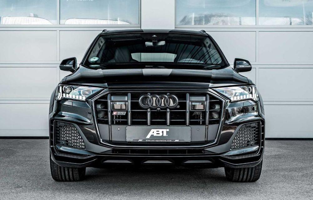 Audi SQ7 TDI primește un pachet complet din partea ABT Sportsline: kit de caroserie agresiv și motor diesel cu 510 CP - Poza 2