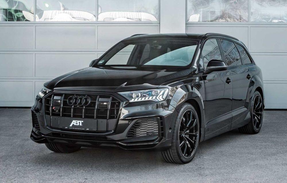 Audi SQ7 TDI primește un pachet complet din partea ABT Sportsline: kit de caroserie agresiv și motor diesel cu 510 CP - Poza 3
