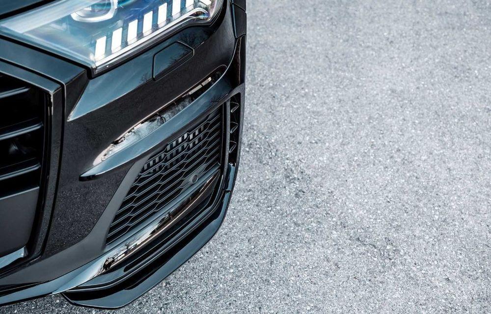 Audi SQ7 TDI primește un pachet complet din partea ABT Sportsline: kit de caroserie agresiv și motor diesel cu 510 CP - Poza 7