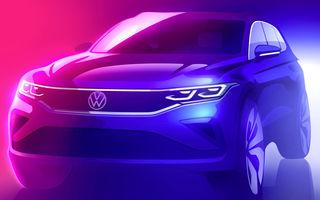 Primul teaser pentru Volkswagen Tiguan facelift: SUV-ul va avea versiune plug-in hybrid și va fi prezentat în 2020