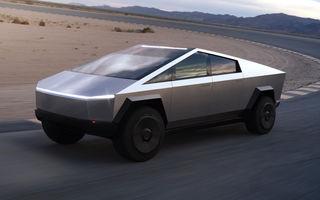 Tesla anunță modificări pentru versiunea de serie a lui Cybertruck: dimensiunile pick-up-ului electric vor fi mai mici