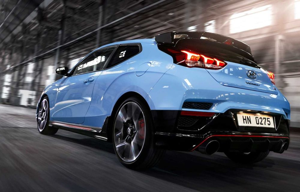 Noutăți pentru Hyundai Veloster N: transmisie automată cu 8 rapoarte și cuplu motor mărit - Poza 5