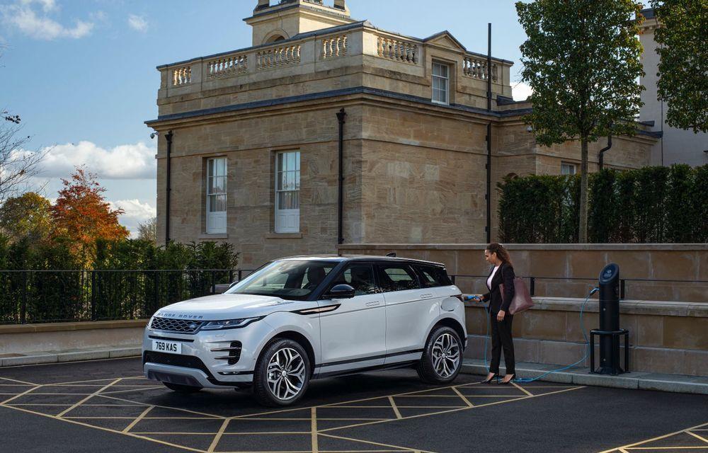 Range Rover Evoque și Land Rover Discovery Sport primesc versiuni plug-in hybrid: 309 CP și autonomie electrică de până la 66 de kilometri - Poza 11