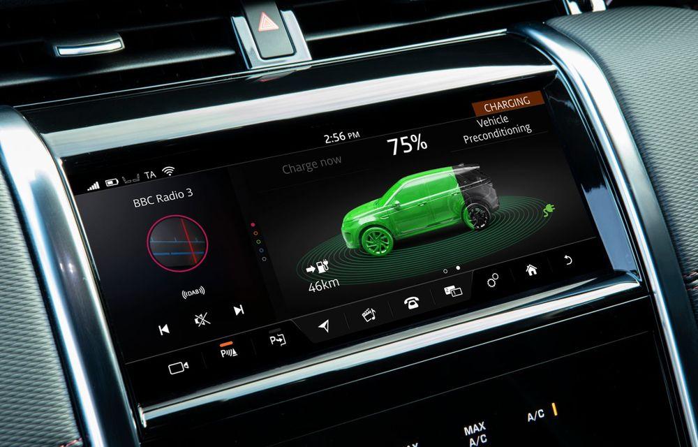 Range Rover Evoque și Land Rover Discovery Sport primesc versiuni plug-in hybrid: 309 CP și autonomie electrică de până la 66 de kilometri - Poza 33