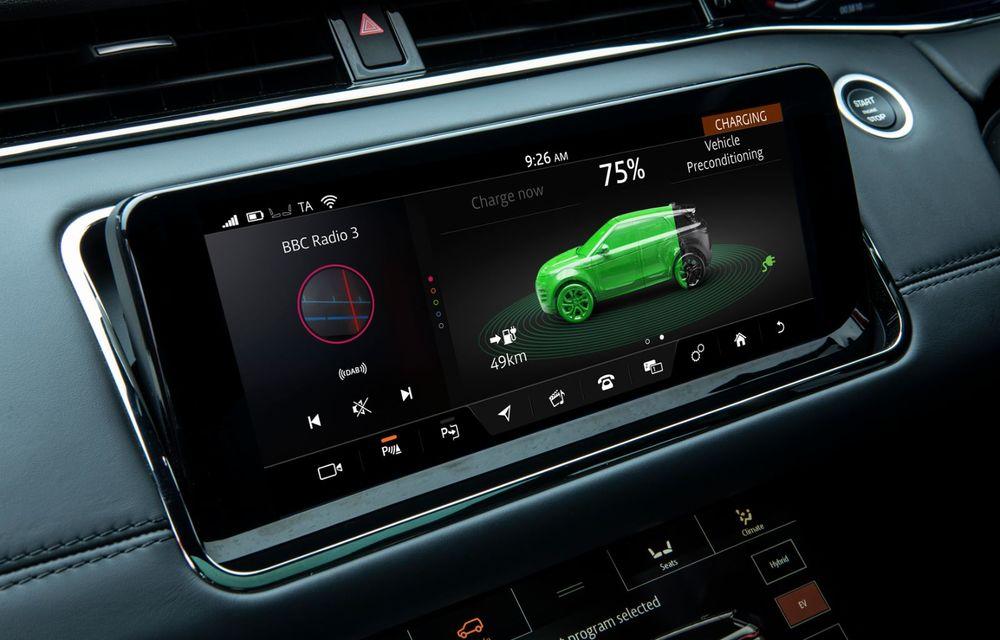 Range Rover Evoque și Land Rover Discovery Sport primesc versiuni plug-in hybrid: 309 CP și autonomie electrică de până la 66 de kilometri - Poza 17