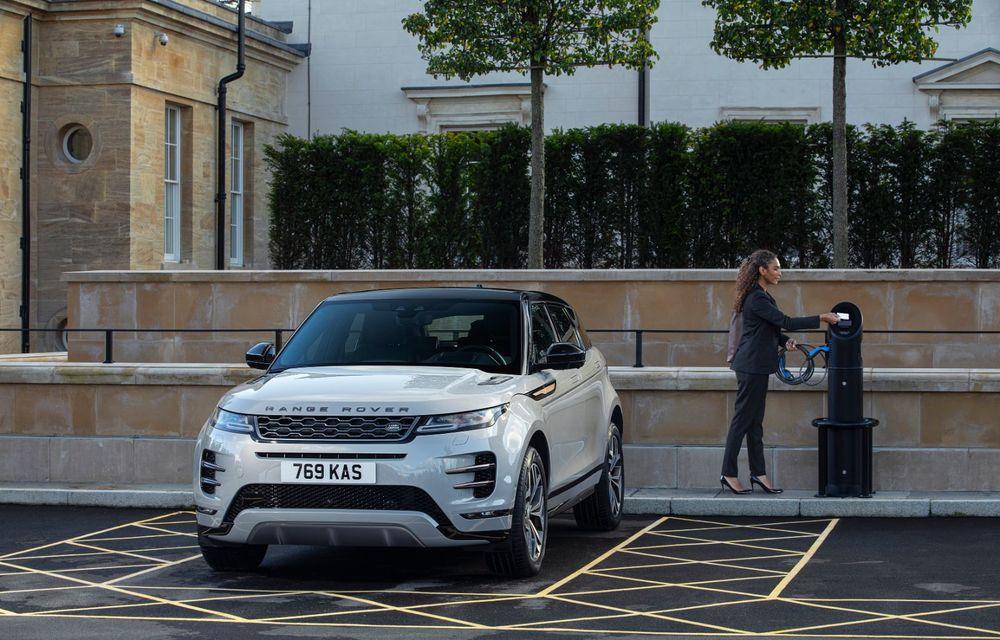 Range Rover Evoque și Land Rover Discovery Sport primesc versiuni plug-in hybrid: 309 CP și autonomie electrică de până la 66 de kilometri - Poza 10