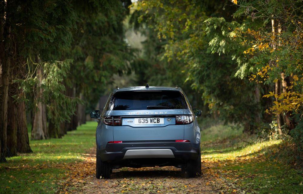 Range Rover Evoque și Land Rover Discovery Sport primesc versiuni plug-in hybrid: 309 CP și autonomie electrică de până la 66 de kilometri - Poza 22