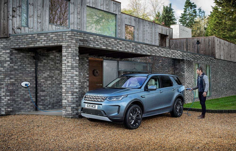 Range Rover Evoque și Land Rover Discovery Sport primesc versiuni plug-in hybrid: 309 CP și autonomie electrică de până la 66 de kilometri - Poza 24