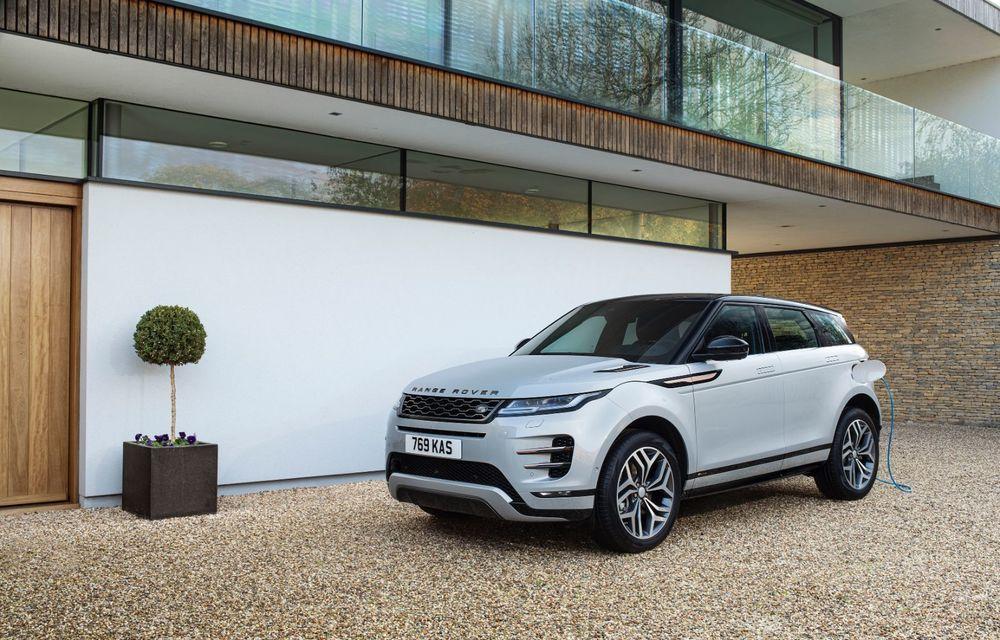 Range Rover Evoque și Land Rover Discovery Sport primesc versiuni plug-in hybrid: 309 CP și autonomie electrică de până la 66 de kilometri - Poza 8