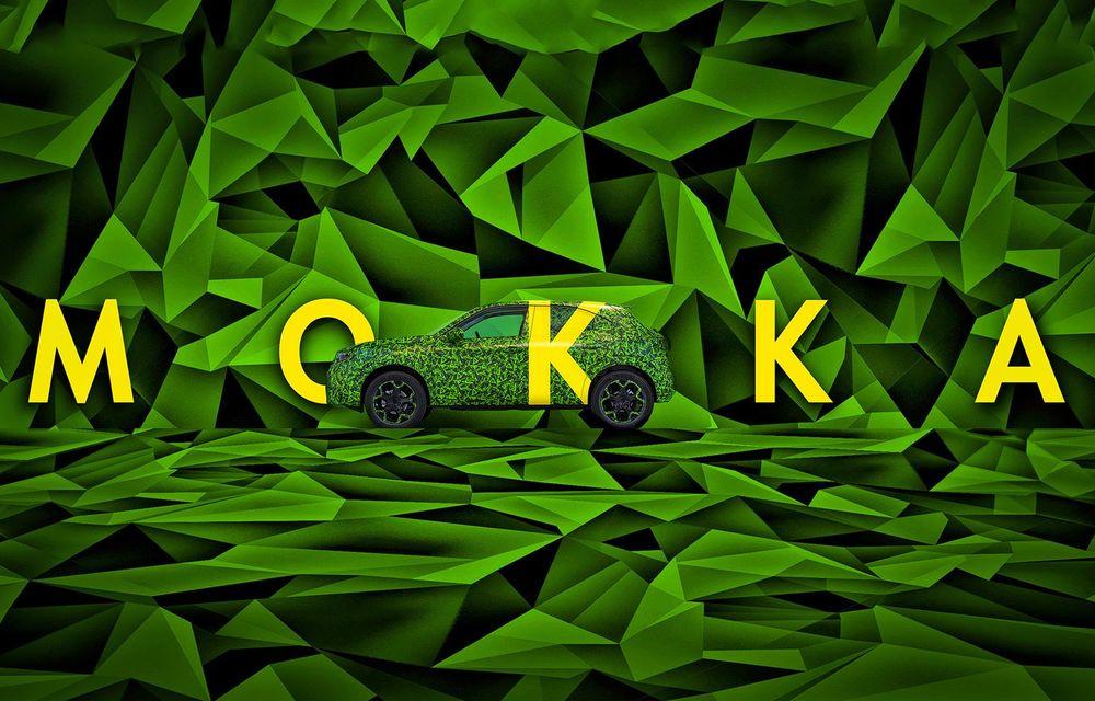 Teaser video pentru noul Opel Mokka electric: modelul apare pe piață în 2021 - Poza 1