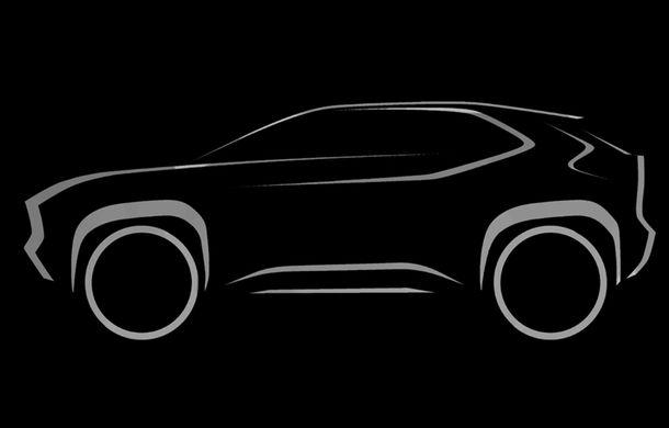 Toyota ar putea lansa noul SUV de clasă mică în 23 aprilie: modelul va avea la bază arhitectura lui Yaris - Poza 1