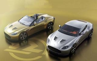 Coupe și speedster: Aston Martin lansează ediția specială Vantage V12 Zagato Heritage Twins