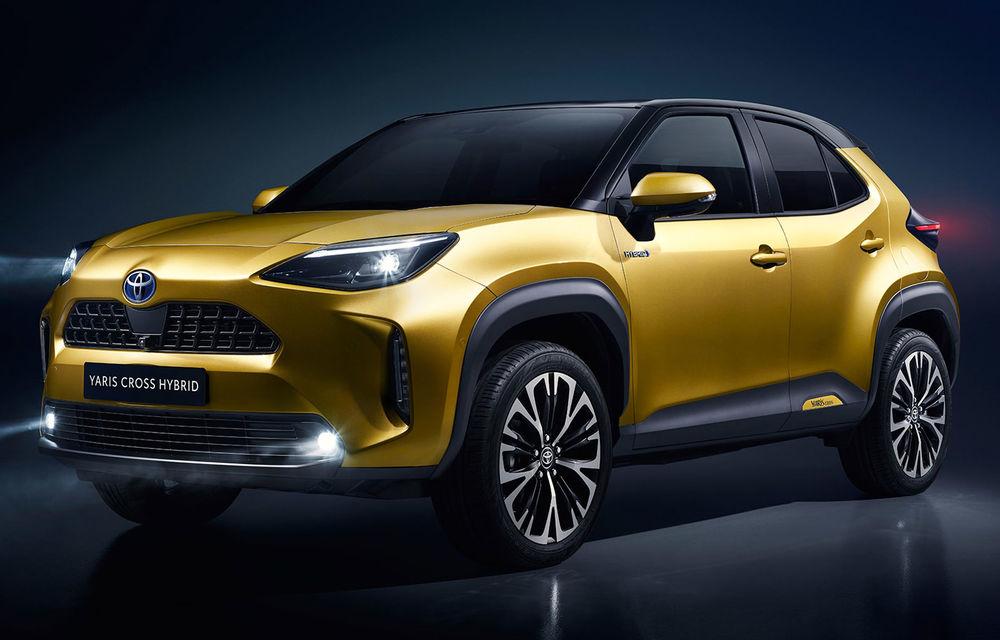 Toyota a prezentat noul Yaris Cross: modelul producătorului nipon are tracțiune integrală și sistem hibrid de propulsie - Poza 1
