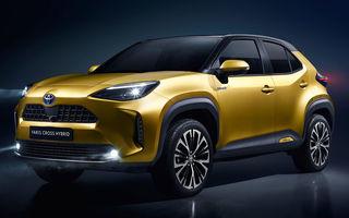 Toyota a prezentat noul Yaris Cross: modelul producătorului nipon are tracțiune integrală și sistem hibrid de propulsie