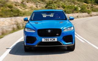 Video. Viitorul Jaguar F-Pace SVR facelift, spionat pe Nurburgring: SUV-ul de performanță ar putea fi lansat în prima parte a anului viitor