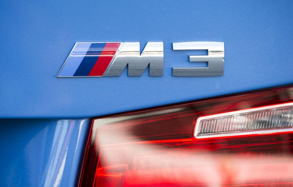 Video. Viitorul BMW M3, surprins în timpul testelor de pe Nurburgring: sedanul de performanță va avea versiune Competition cu 510 CP - Poza 1