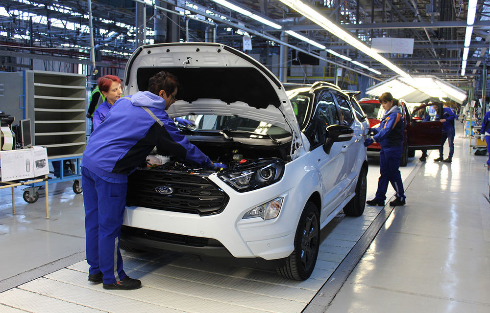 Vești bune pentru angajații Ford de la Craiova: producția va fi reluată gradual din 4 mai - Poza 1