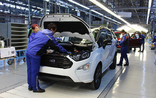 Vești bune pentru angajații Ford de la Craiova: producția va fi reluată gradual din 4 mai