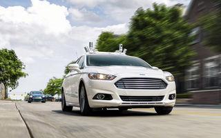 """Ford amână lansarea serviciului de taxi-uri autonome pentru 2022: """"Trebuie să analizăm cum se va schimba comportamentul clienților"""""""