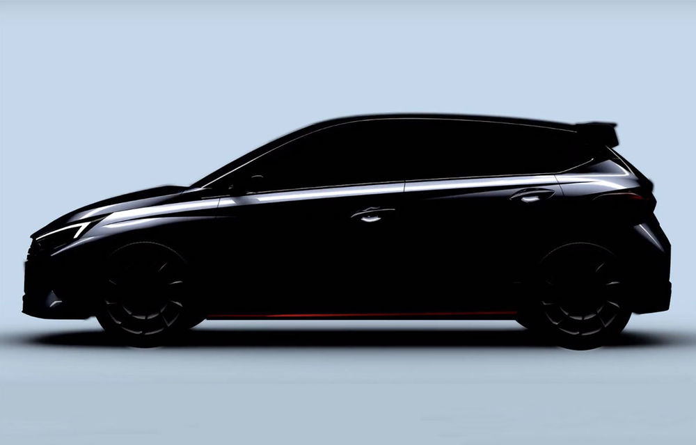 Video. Noul Hyundai i20 N, surprins în timpul testelor: Hot Hatch-ul de clasă mică ar urma să livreze cel puțin 200 CP - Poza 1