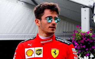 """Leclerc, îngrijorat că scurtarea sezonului va dezavantaja Ferrari: """"Suntem în spatele rivalilor și nu vom avea timp să dezvoltăm monopostul"""""""