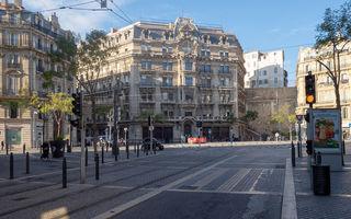 Înmatriculările de mașini au scăzut cu 89% în Franța în luna aprilie, la doar 21.000 de unități
