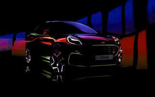 Primul teaser pentru Ford Puma ST: versiunea de performanță a SUV-ului produs la Craiova apare în 2020