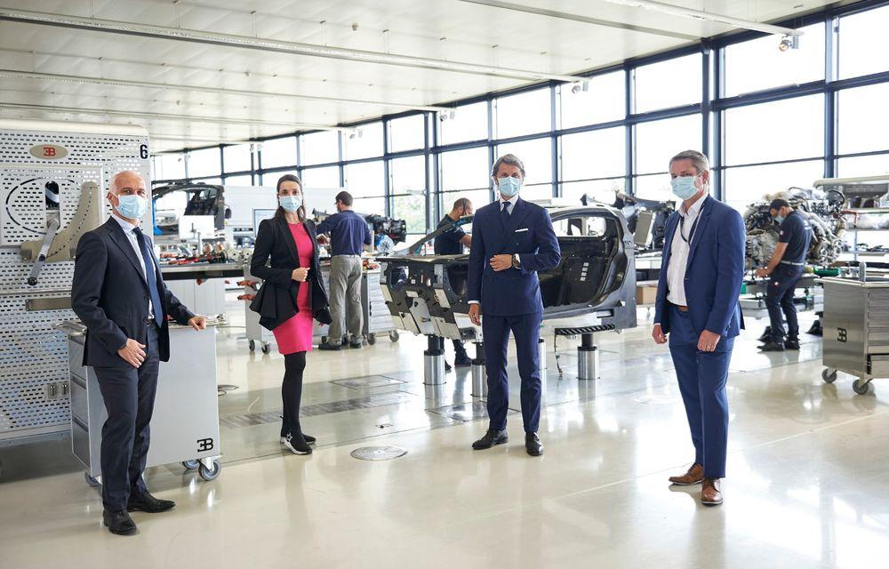 Bugatti a redeschis uzina din Molsheim: producătorul de hypercar-uri a pregătit o serie de măsuri speciale pentru protecția angajaților - Poza 4