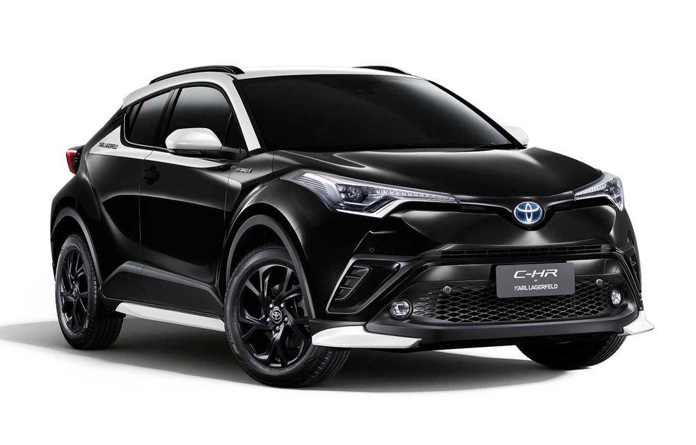 Toyota C-HR by Karl Lagerfeld: ediția specială a SUV-ului va fi disponibilă doar pe piața din Thailanda - Poza 1