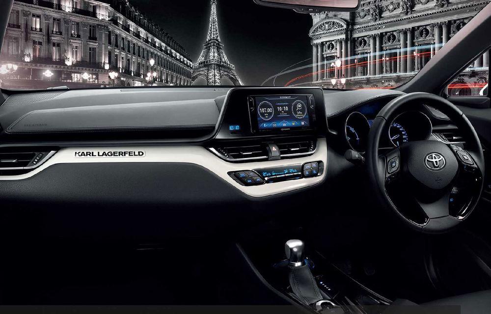 Toyota C-HR by Karl Lagerfeld: ediția specială a SUV-ului va fi disponibilă doar pe piața din Thailanda - Poza 3