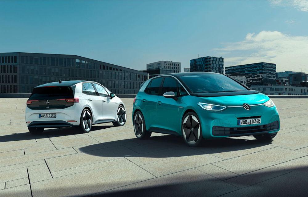 Volkswagen confirmă startul comenzilor pentru ID.3: hatchback-ul electric va fi disponibil din 17 iunie - Poza 1