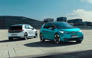 Volkswagen confirmă startul comenzilor pentru ID.3: hatchback-ul electric va fi disponibil din 17 iunie