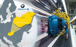 BMW amână cu un an construcția uzinei auto din Ungaria: producția ar putea începe în 2024