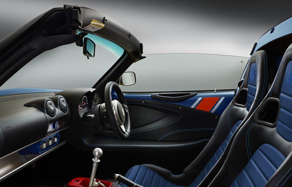 Lotus lansează colecția Elise Classic Heritage: patru versiuni speciale îmbrăcate în uniforme celebre în motorsport - Poza 9