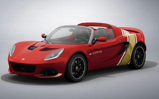 Lotus lansează colecția Elise Classic Heritage: patru versiuni speciale îmbrăcate în uniforme celebre în motorsport
