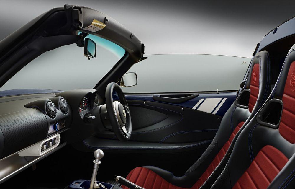 Lotus lansează colecția Elise Classic Heritage: patru versiuni speciale îmbrăcate în uniforme celebre în motorsport - Poza 12