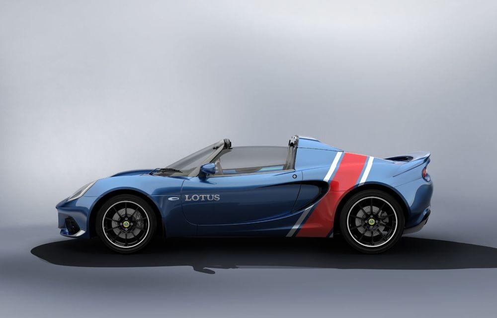Lotus lansează colecția Elise Classic Heritage: patru versiuni speciale îmbrăcate în uniforme celebre în motorsport - Poza 8