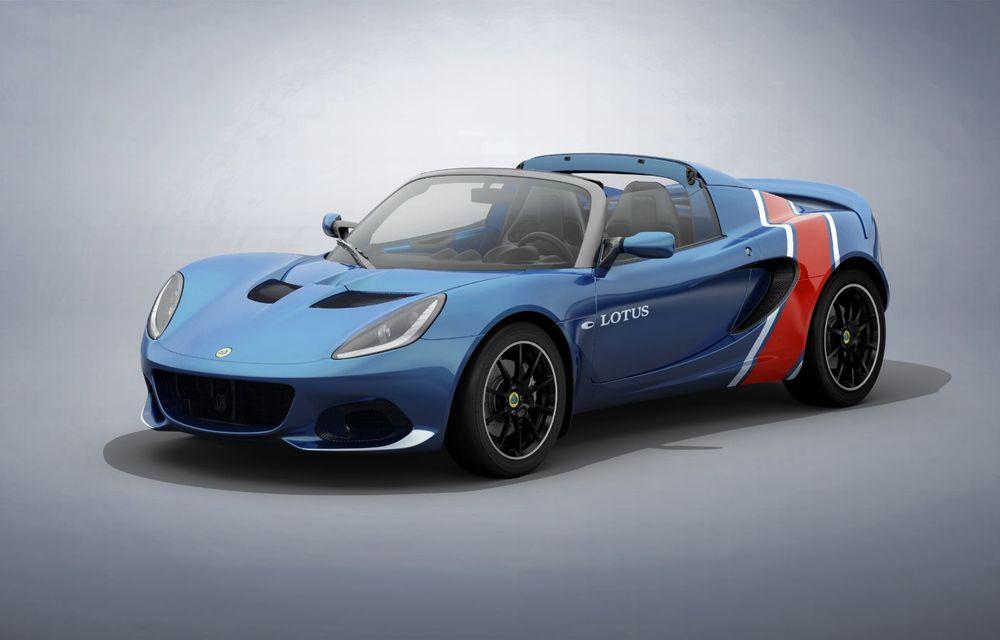 Lotus lansează colecția Elise Classic Heritage: patru versiuni speciale îmbrăcate în uniforme celebre în motorsport - Poza 7