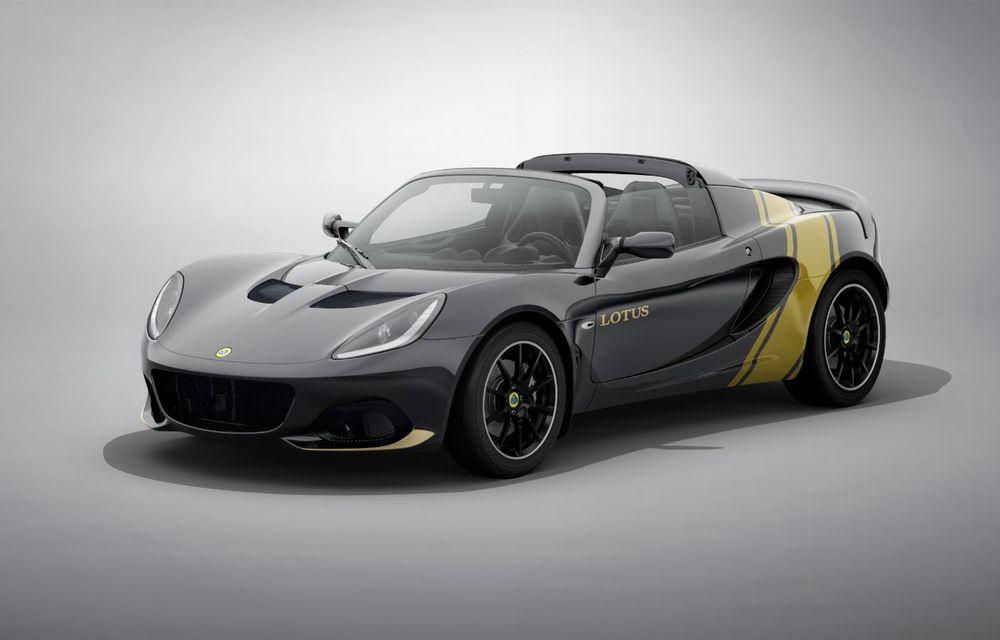 Lotus lansează colecția Elise Classic Heritage: patru versiuni speciale îmbrăcate în uniforme celebre în motorsport - Poza 4