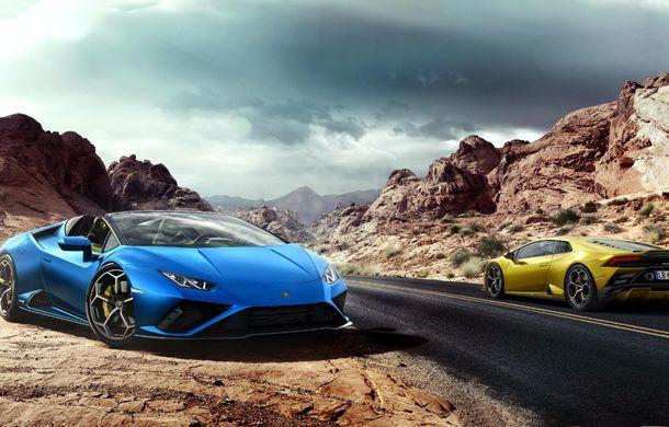 Lamborghini a prezentat noua versiune Huracan Evo Spyder RWD: 610 CP și 0-100 km/h în 3.5 secunde pentru supercar-ul cu roți motrice spate - Poza 12