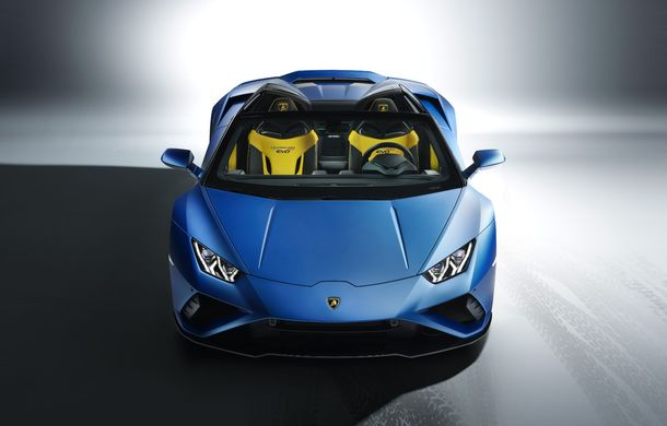 Lamborghini a prezentat noua versiune Huracan Evo Spyder RWD: 610 CP și 0-100 km/h în 3.5 secunde pentru supercar-ul cu roți motrice spate - Poza 5