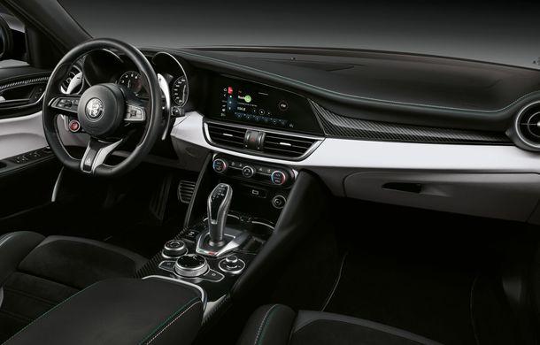 Îmbunătățiri pentru Alfa Romeo Giulia și Stelvio Quadrifoglio: italienii propun modificări la interior și o paletă mai bogată de culori pentru caroserie - Poza 25