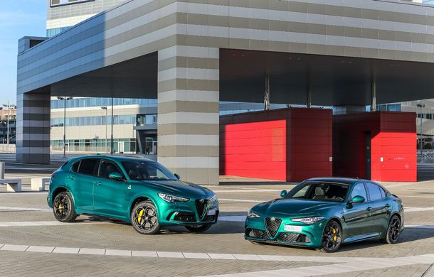 Îmbunătățiri pentru Alfa Romeo Giulia și Stelvio Quadrifoglio: italienii propun modificări la interior și o paletă mai bogată de culori pentru caroserie - Poza 6