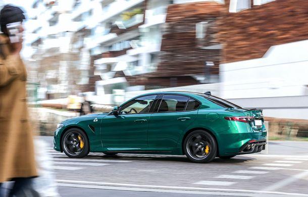 Îmbunătățiri pentru Alfa Romeo Giulia și Stelvio Quadrifoglio: italienii propun modificări la interior și o paletă mai bogată de culori pentru caroserie - Poza 13