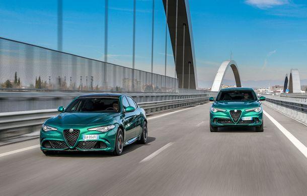 Îmbunătățiri pentru Alfa Romeo Giulia și Stelvio Quadrifoglio: italienii propun modificări la interior și o paletă mai bogată de culori pentru caroserie - Poza 2